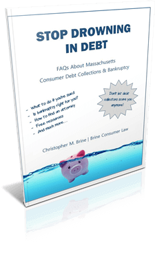 FREE REPORT: Stop Drowning in Debt - Answers to FAQs About Bankruptcy and Debt Collections